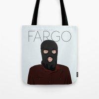 fargo Tote Bags featuring Fargo by JayHerron