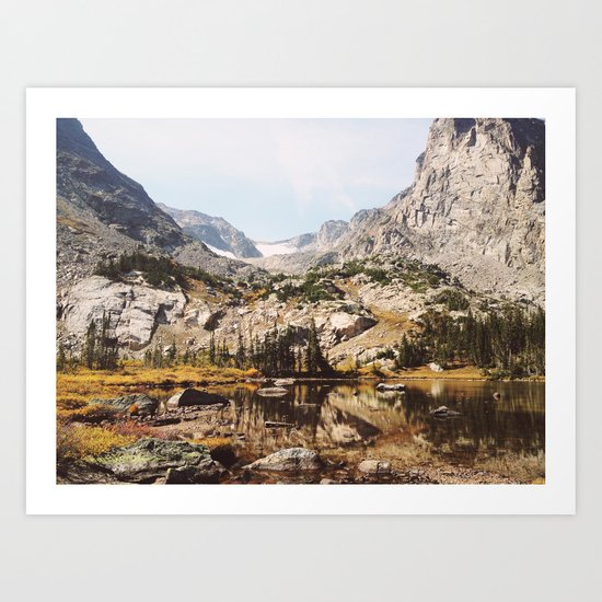 Lake Helene Art Print