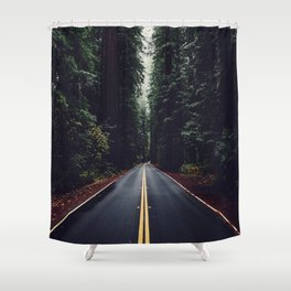 The woods have eyes Shower Curtain