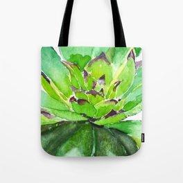 green succulent 3 Tote Bag