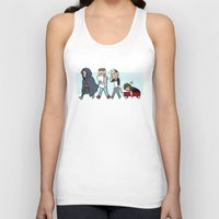 kendrawcandraw Tank Tops featuring Sleepy Time by kendrawcandraw