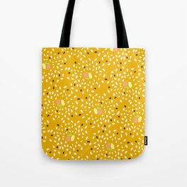 Sushi Mustard Yellow Tote Bag