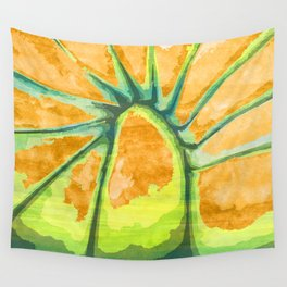 Radiating Pulse from a Higher Destination Wall Tapestry