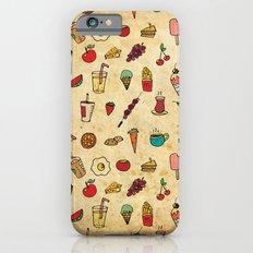 Food Love Pattern iPhone 6s Slim Case