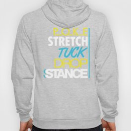 POKE STRETCH TUCK DROP STANCE v7 HQvector Hoody