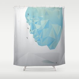 Shun–Challenge yourself Shower Curtain