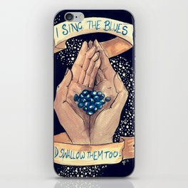 Just Off The Key of Reason iPhone Skin