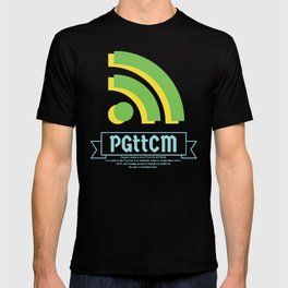 Green/Yellow PGttCM logo T-shirt