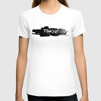 tokyo T-shirts featuring Tokyo by Artworks by PabloZarate Inc.