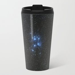 Peiades star cluster and a Orionid Meteor Travel Mug