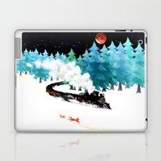 fox and steam train Laptop & iPad Skin