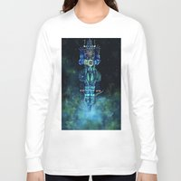 architect Long Sleeve T-shirts featuring Architect 1  by HourglassAxis