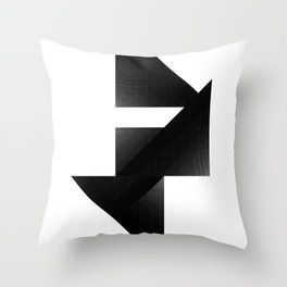 Directions by [PE] Throw Pillow