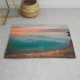 Floating in the Dead Sea Rug