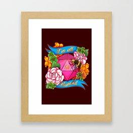 Critical Success! Framed Art Print
