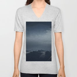 We wanted to sleep in the mountains Unisex V-Neck