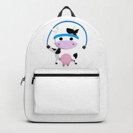 TeeTee - The Aerobic Cow #02 Backpack