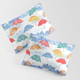 Umbrella Spring - by Kara Peters Pillow Sham