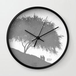 Tree Love / Arbol del amor Wall Clock