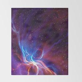 Nebulaic Throw Blanket