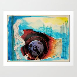 Moments in time... Art Print
