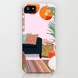 Bohemian Living Room iPhone Case