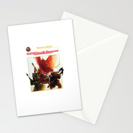 dungeons and dragons - advanced Stationery Cards