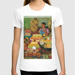 Las vendedoras de frutas by O. Costa T-shirt