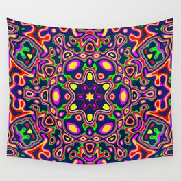Symmetric composition 7 Wall Tapestry