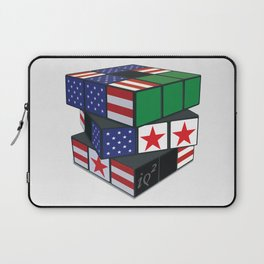The U.S. Has No Dog In The Fight In Syria Laptop Sleeve