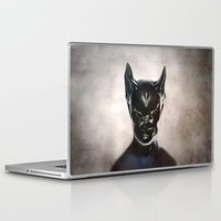 bat Laptop & iPad Skins featuring Bat by Giray Ötken