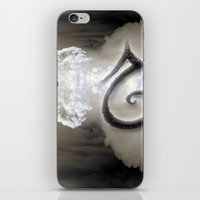 swan iPhone & iPod Skins featuring Swan by CrismanArt