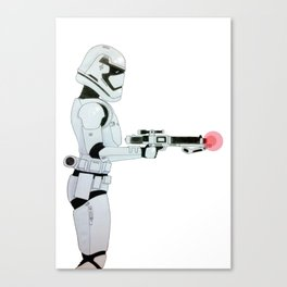 First Order Stormtrooper Canvas Print