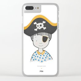 The bravest pirate Clear iPhone Case