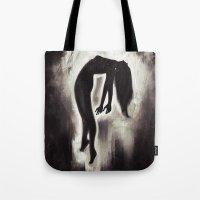 angels Tote Bags featuring Angels by Iulia Rontu