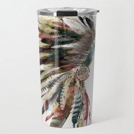 native headdress Travel Mug