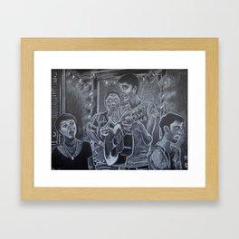 The Friendly Ghost Framed Art Print
