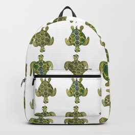 Wise Sea Turtle Backpack
