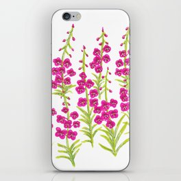 Fireweed iPhone Skin