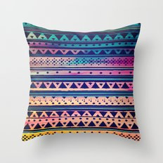SURF TRIBAL PATTERN Throw Pillow
