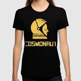 Cosmonaut - Retro Soviet Union Space Design T-shirt