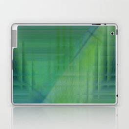 Greentones abstract Laptop & iPad Skin