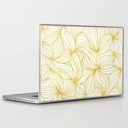 Golden Doodle floral Laptop & iPad Skin