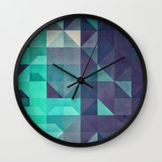 Bryyt Tyyl Wall Clock