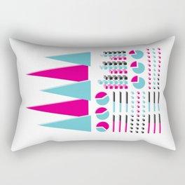 Infographic Selection Rectangular Pillow
