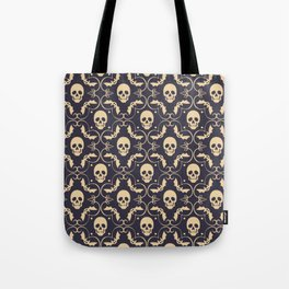 Happy halloween skull pattern Tote Bag