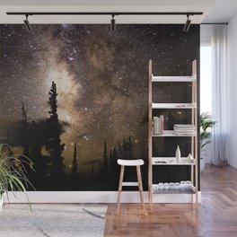 Mountain Milky Way Wall Mural