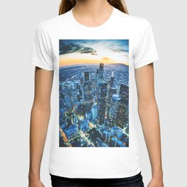 los angeles downtown T-shirt