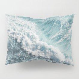 Saltwater Feelings Ocean Surf Pillow Sham
