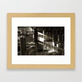 """'Barn 3"""" Framed Art Print"""